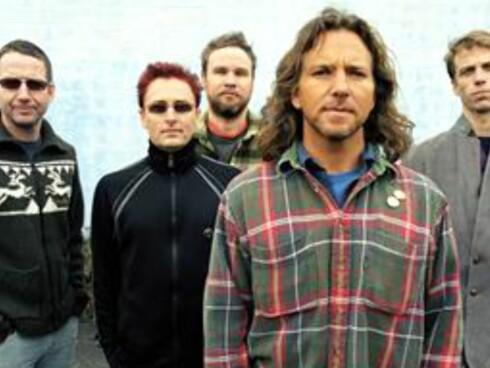 Pearl Jam var også blant bandene på Bonnaroo 2008. Foto: Pearl Jam