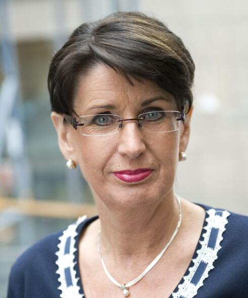 Aud-Helen Rasmussen, informasjonsdirektør i DnB NOR