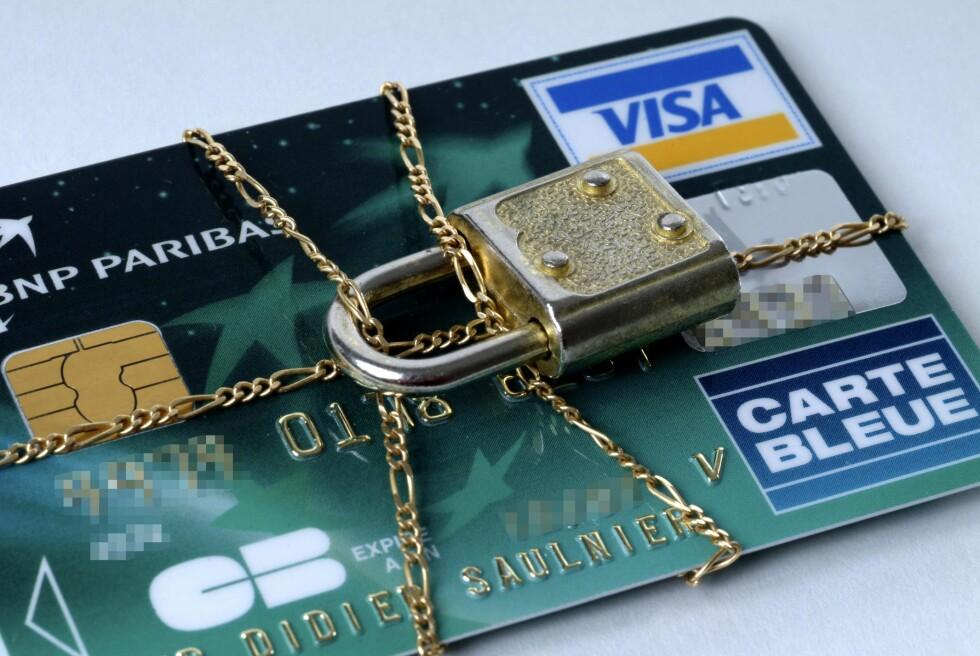 Du kan risikere at kortet ditt blir sperret uten at du har bedt om det. Foto: Colourbox