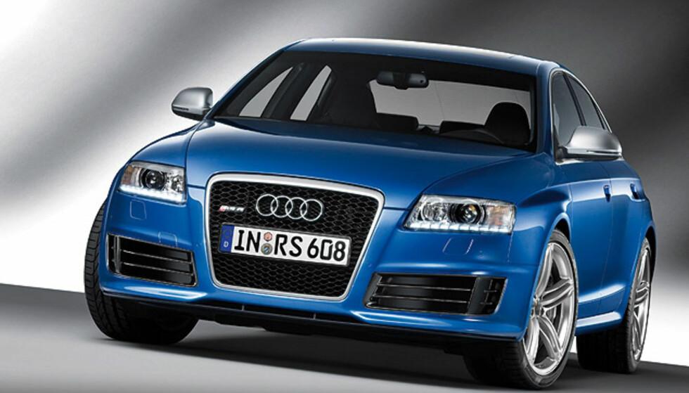 Store bilder av Audis sterkeste