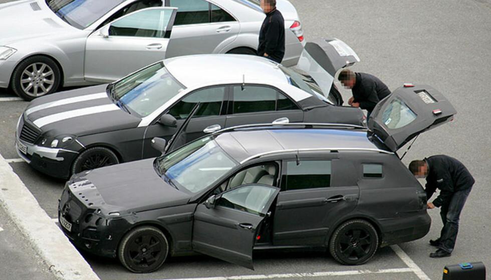 Store bilder av neste Mercedes E-klasse