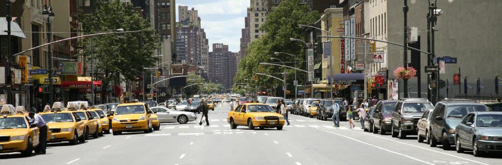 Også i New York skal du passe godt på kortet ditt.  Foto: Colourbox.com