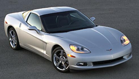 Nybilpris 250.000 kroner: Nyeste Corvette (6,2-liters V8, 430 hestekrefter og 0-100 på 4,5 sek.)