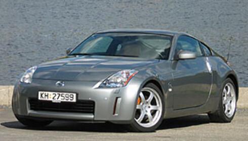 Nissan 350Z: Nær 900.000 kr i Norge, vel 150.000 kr i USA Foto: Jogrim Aabakken