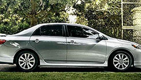 Nyeste Toyota Corolla: Ca. 80.000 kroner ny med 1,8-liters motor på 135 hester.
