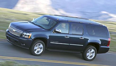 Chevrolet Suburban: 1.500.000 kroner i Norge, 207.000 i USA...