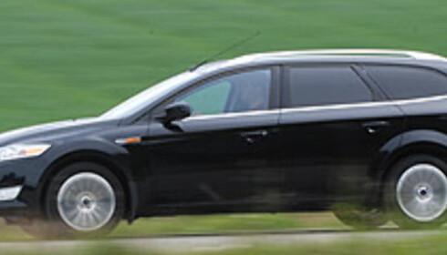 Ford Mondeo er Norges mest solgte bil hittil i år, og i juli måned Foto: Cato Steinsvåg