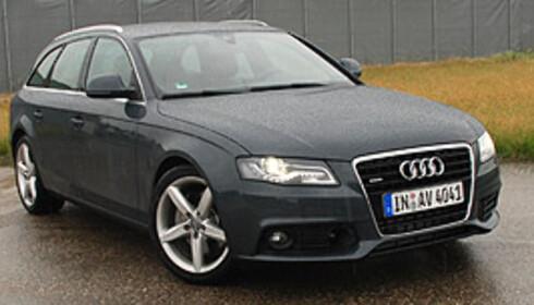 Audi A4 var Norges tredje mest solgte bil i juli Foto: Cato Steinsvåg