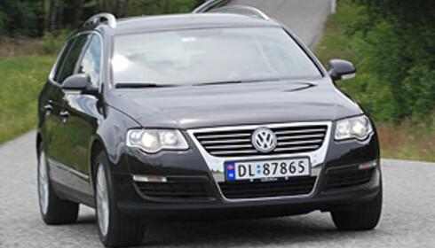 Volkswagen Passat ligger på tredjeplass etter syv måneder Foto: Cato Steinsvåg