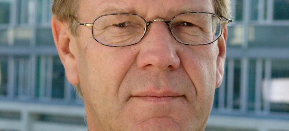 Finn Bergsen jr er ikke positiv til forslagene om nye satser for arveavgift.  Foto: NHO