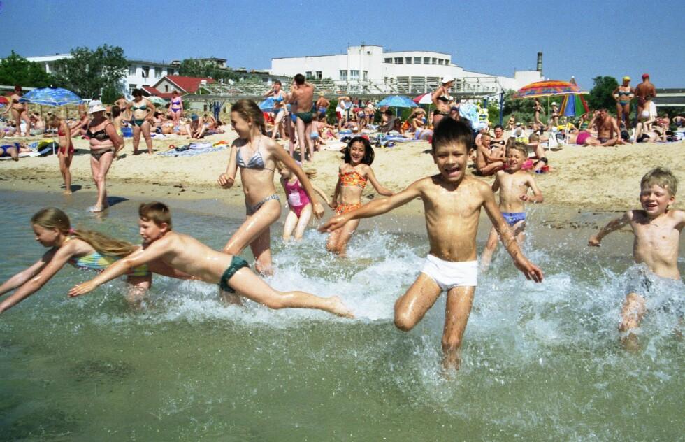 Badeliv og over 30 grader ved Svartehavet. Foto: colourbox.com