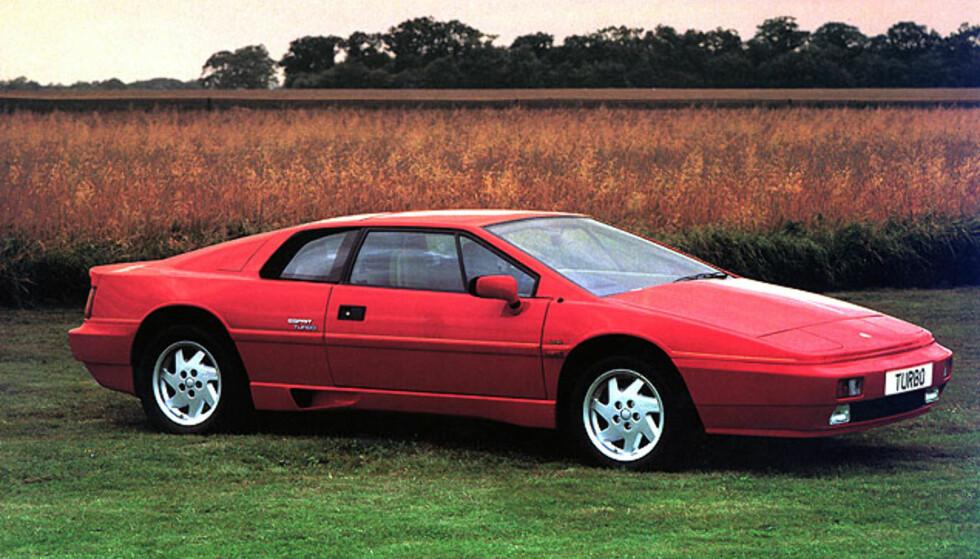 Lotus Esprit Turbo (1980-1987) Foto: Lotus
