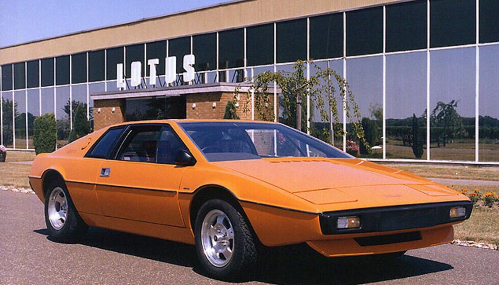 Lotus Esprit S1 (1976-1981) Foto: Lotus