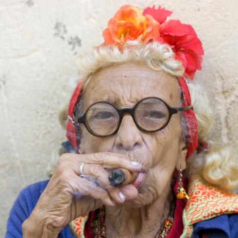 Du har større sjanse for å utvikle dårlig hukommelse hvis du røyker. Illustrasjonsfoto: Colourbox