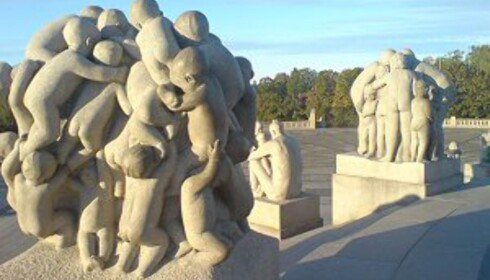 Verdenskjent og gratis - Vigelandsparken. Foto: Stine Okkelmo