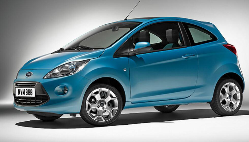 Se Fords nye minibil