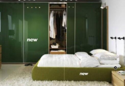 Grimen seng - som å sove på en seng av mose? Faksimile fra Apartmenttherapy.com. Foto: Ikea