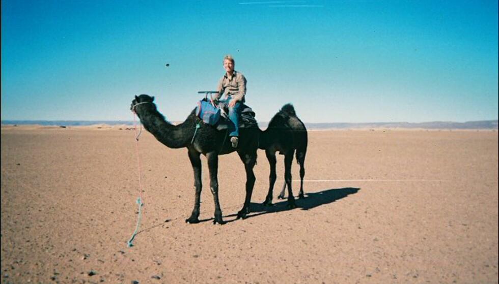 Dromedaren er nomadens beste venn og viktigste arbeidsverktøy. Foto: Håkon Jarle