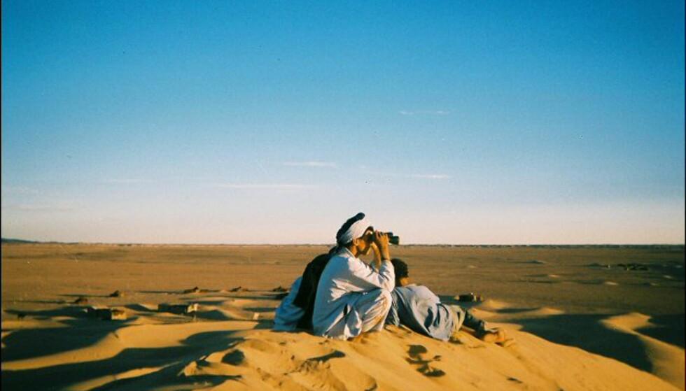 Nok av tid til å nyte solnedgangene i Sahara. Foto: Håkon Jarle