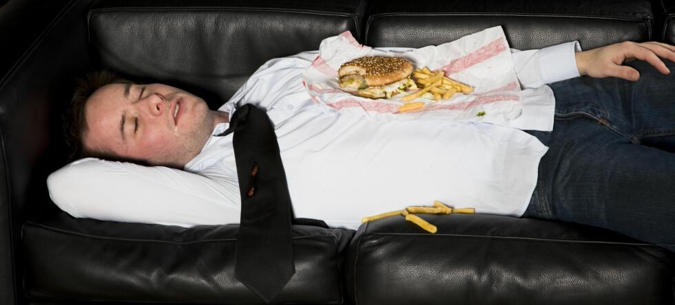Dersom du er mer glad i sofaen enn joggeskoene kan en treningspille bli din hjelp. FOTO: Illustrasjon/Colourbox.com