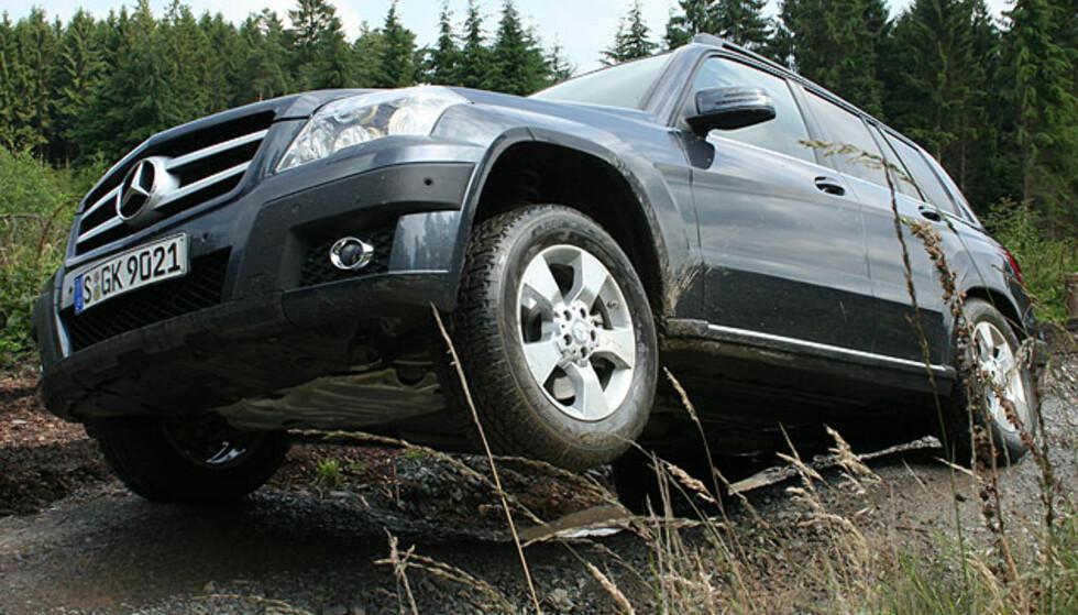 Mercedes GLK - eksteriørbilder