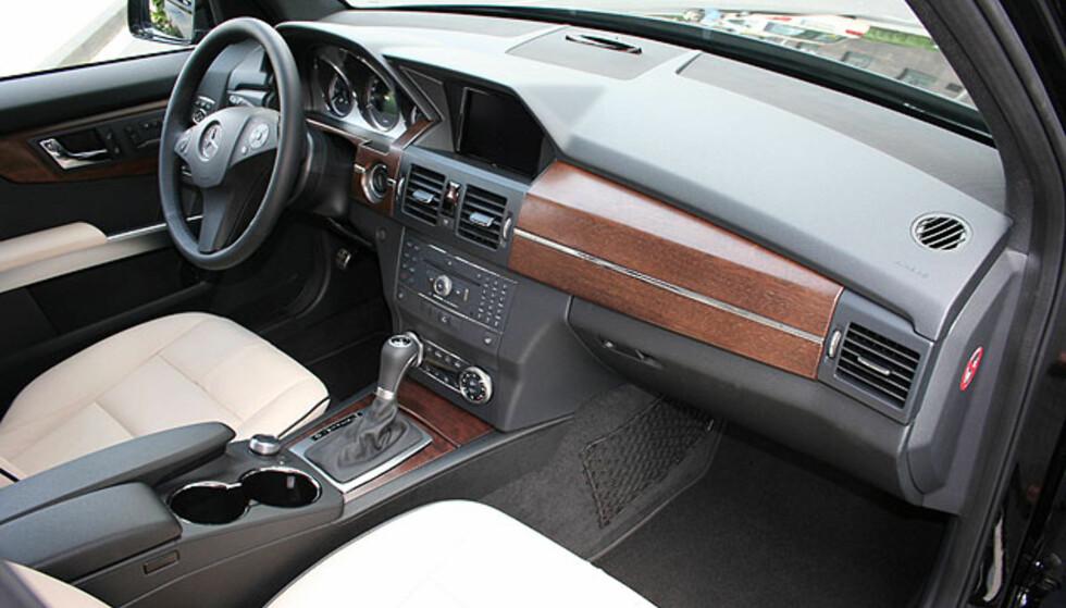 Mercedes GLK - interiørbilder