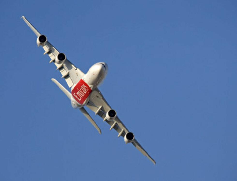 Emirates splitter nye A380-fly skal gå i rute mellom Dubai og New York. Foto: Emirates