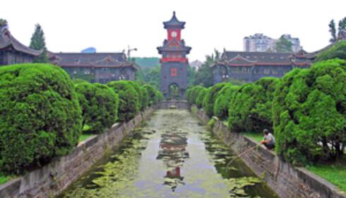 Chengdu er en universitetsby med 70 000 studenter. Ved Sichuan University finner du utstillinger, aktiviteter og et imponerende sportsanlegg. Foto: Wikipedia