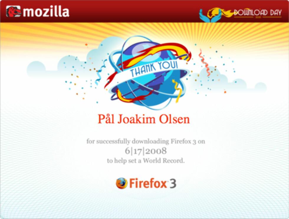 Var du med på Firefox-rekorden?