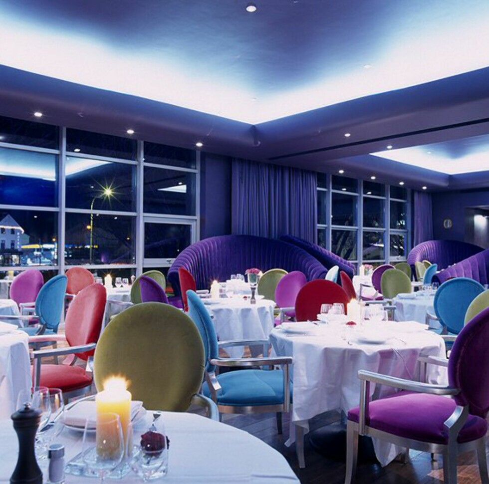 Fra restauranten, som også fungerer som frokostrom. Foto: The g hotel