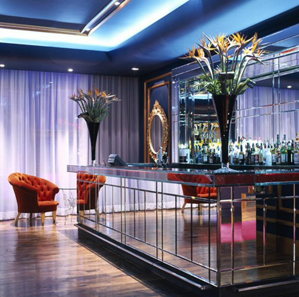 Fra hotellets bar. Foto: The g hotel