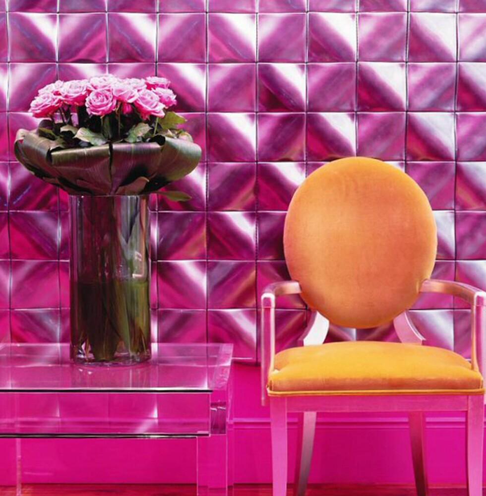 Her fra den rosa salongen. Foto: The g hotel