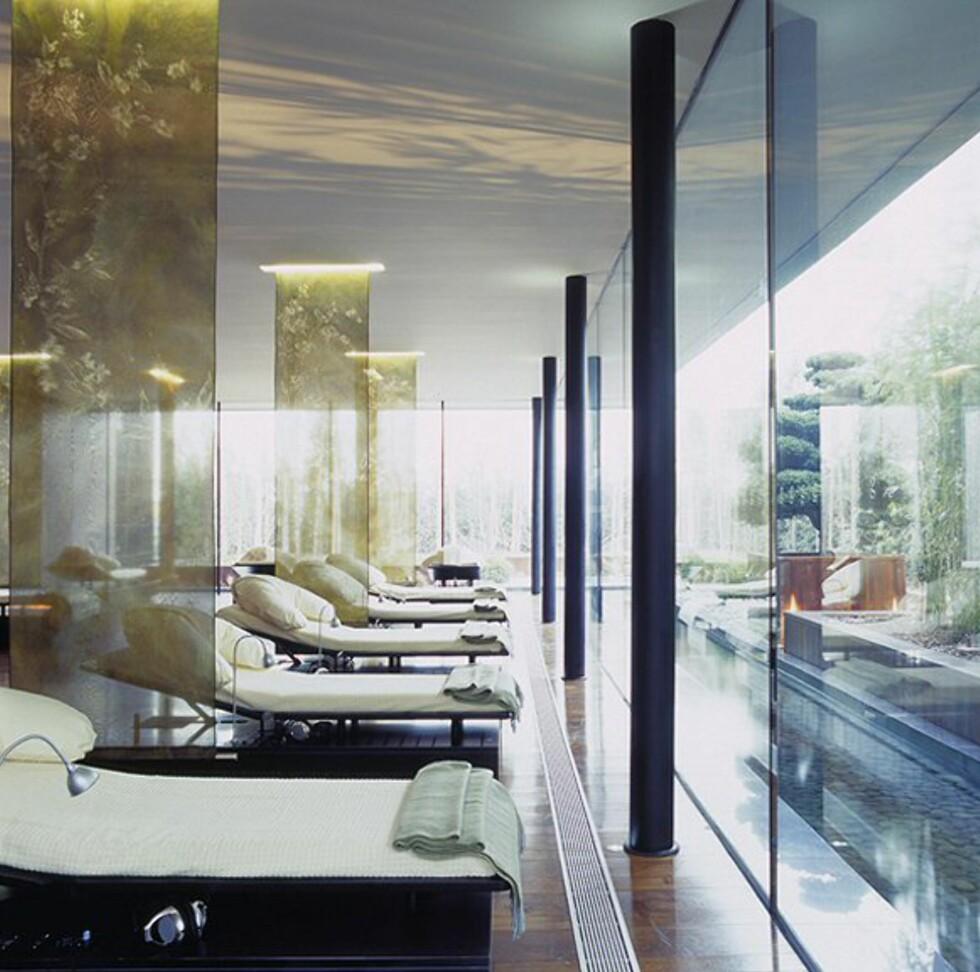 Hvileavdelingen på spaet. Foto: The g hotel
