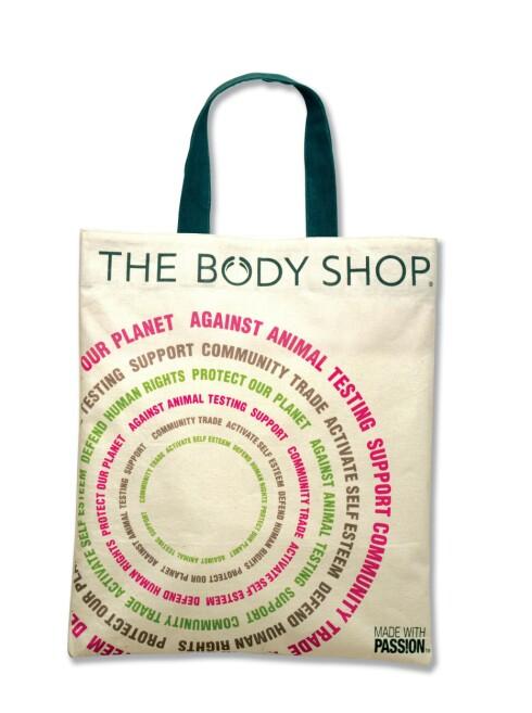 BodyShops handlenett koster 30 kroner, og 10 kroner går til Children on the Edge som arbeider med utsatte barn over hele verden.  Foto: The Body Shop