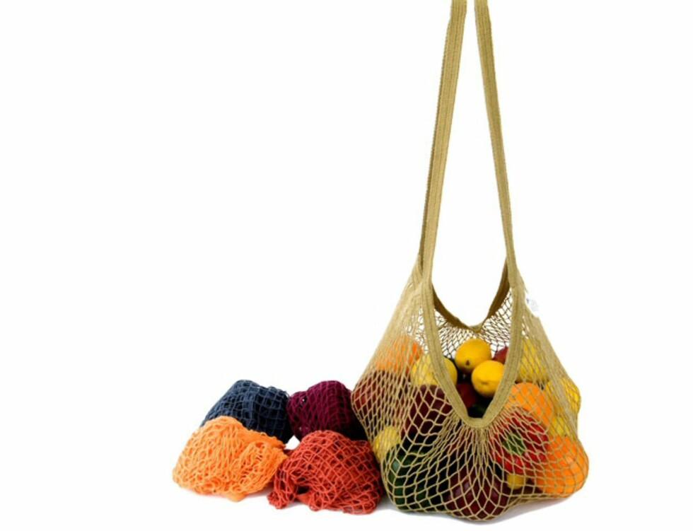 Enkelt nett som er like fint til frukt som til strandtøy. Pris: 89 kroner på By Katari.