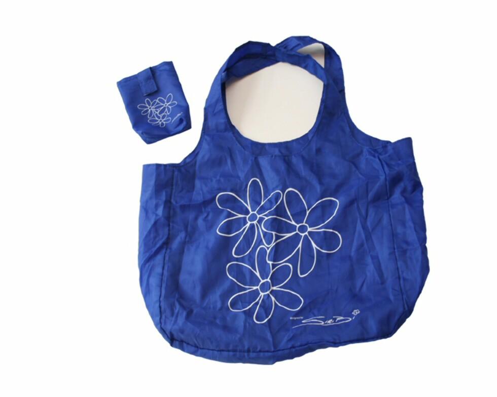 Bag1 er utviklet av norske designere, og fås i en rekke friske farger. Pris: 79 kroner på rett i nett.  Foto: Bag1