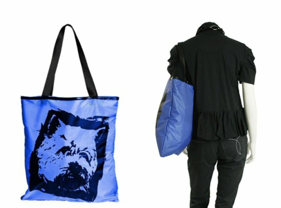 """Delhia bag i """"sunset blue"""" er designet av By Malene Birger, og deler av inntekten går til Unicef. Pris: 399 dkk fra musthaves.dk. Foto: By Malene Birger"""