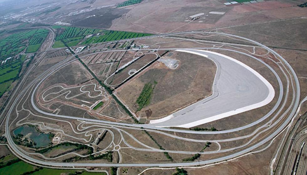 BMWs testanlegg i Miramas var åsted for prøvekjøringen.