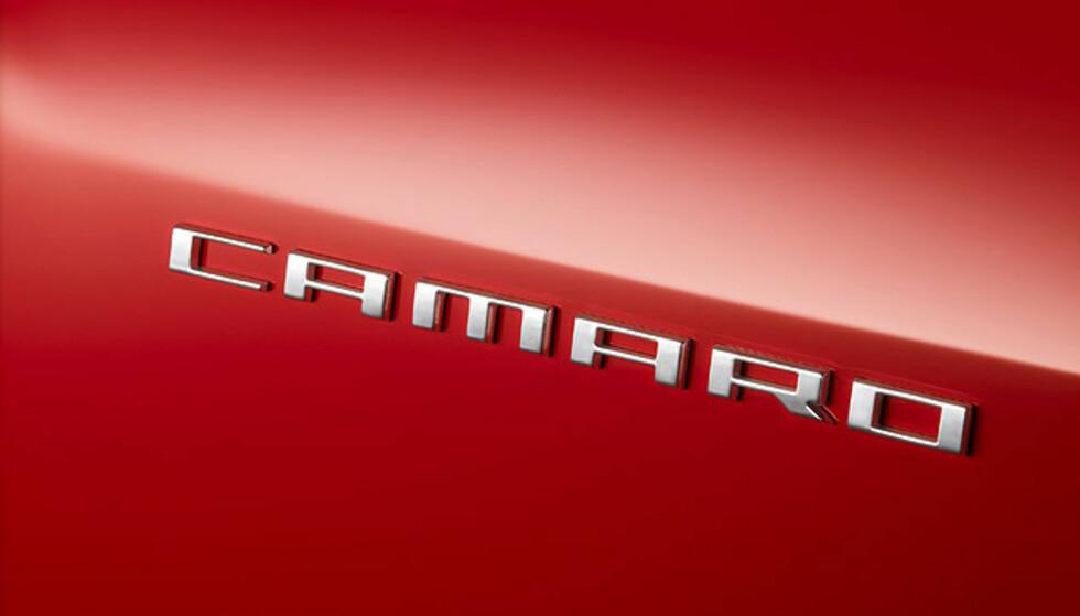 Bilder av nye Chevrolet Camaro