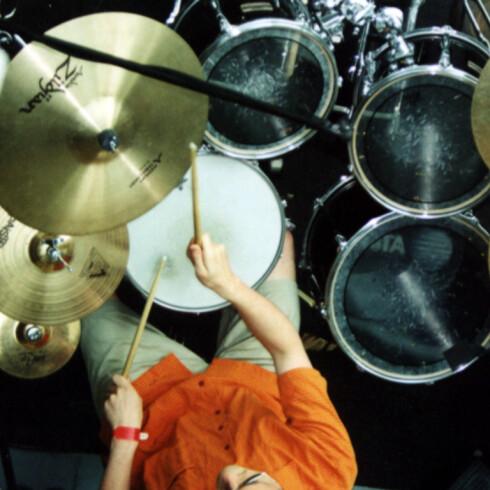 Blondies trommeslager, Clem Burke, brenner 400-600 kalorier i timen når han har en opptreden. Illustrasjonsfoto: Stock.Xchng/Andrew Rothman
