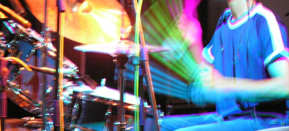 Profesjonelle trommeslagere er som regel i topp fysisk form. Illustrasjonsfoto: Stock.Xchng/Arjun Chennu