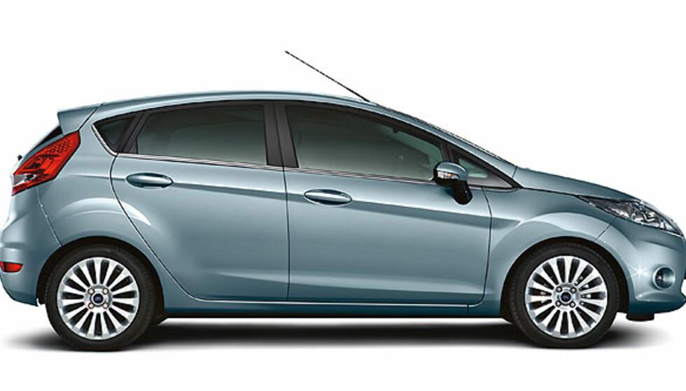 Bildene av nye Ford Fiesta