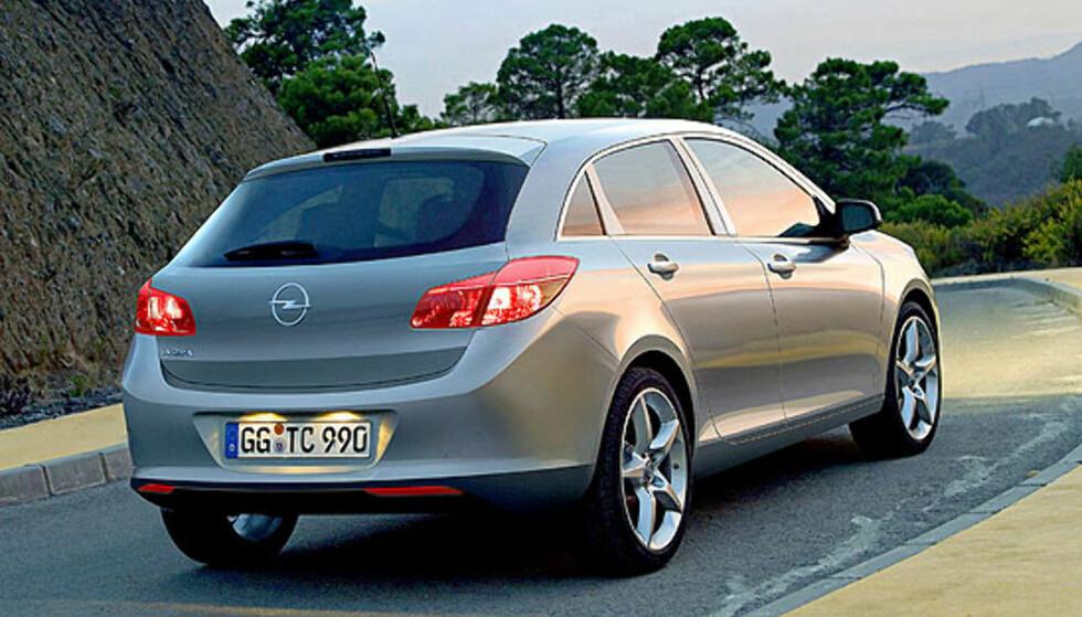Opel: Ny Astra, Insignia stasjonsvogn og Meriva