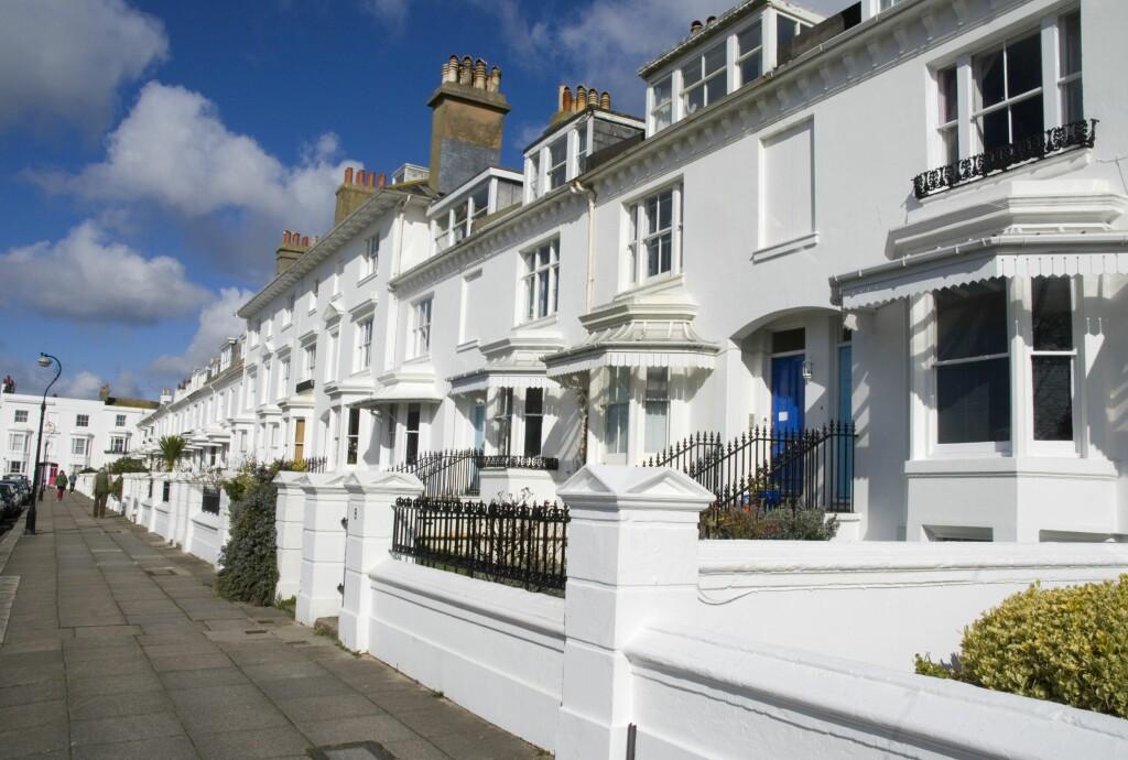 Illustrasjonsfoto: Det britiske boligmarkedet er hakket brattere enn det norske, og boligselgere må være kreative. Foto: Colourbox.com