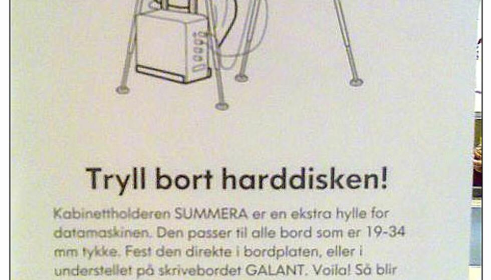Begrepsforvirring hos IKEA del III