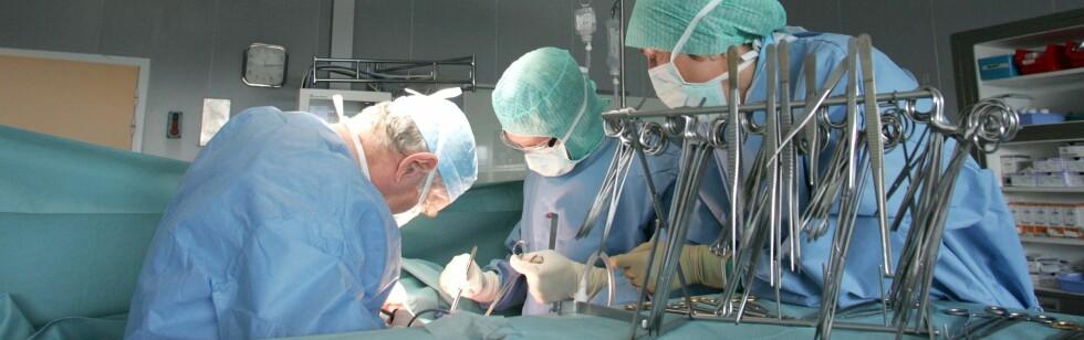 Legene ble overrasket da røntgenbildene avslørte innholdet i pasientens mage. Illustrasjonsfoto: Colourbox.com