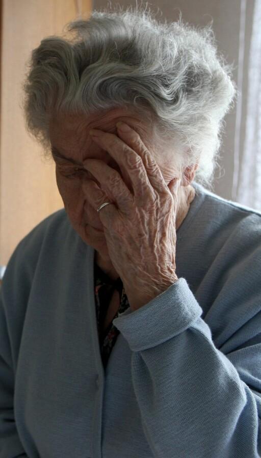 Forskere håper de kan utvikle medikamenter med nikotin som kan hjelpe pasienter med Alzheimers. Foto: Colourbox