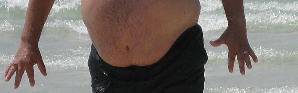 Jeg er vel ikke akkurat overvektig, selv om jeg har noen kilo ekstra?.. Illustrasjonsfoto: Colourbox.com