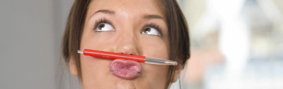 Hva slags ressurser har jeg som passer bedriften? Hva bor i meg? Hva kan jeg bidra med? Foto: Colourbox.com Foto: Colourbox.com