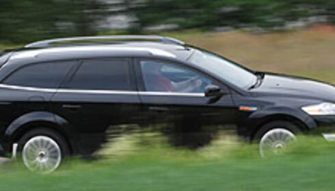 Ford Mondeo suser inn som vinner Foto: Cato Steinsvåg